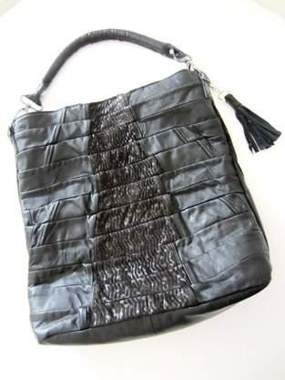 Makerist - Erinnerungs-Tasche aus einem Ledermantel meiner verstorbenen Mutter - 1