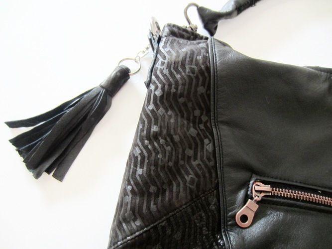 Makerist - Erinnerungs-Tasche aus einem Ledermantel meiner verstorbenen Mutter - Nähprojekte - 2