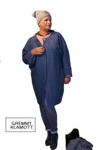 Makerist - Meine Frau AVA, aus Walkstoff, in einem trendigen Jeansblau, für trendige Frauen - Nähprojekte - 1