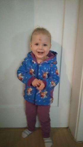 Makerist - Übergangsjacke aus Baumwolljersey, innen Fleece für meine Tochter - Nähprojekte - 2
