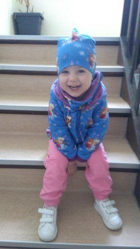 Makerist - Übergangsjacke aus Baumwolljersey, innen Fleece für meine Tochter - Nähprojekte - 3
