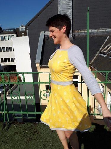 Makerist - Fröhlich gelbes Frühlingskleid - Nähprojekte - 3