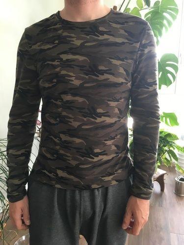Makerist - Camo Shirt aus Jersey für mein Herzblatt - Nähprojekte - 1