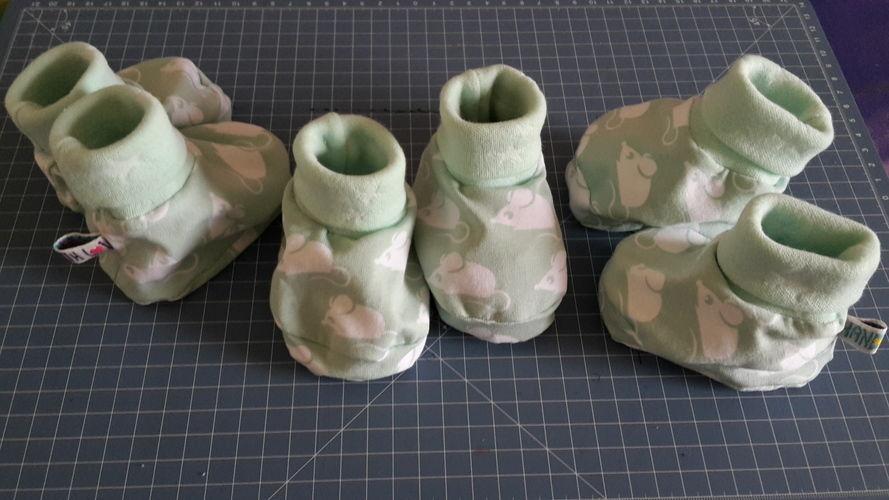 Makerist - Babies erste Schuhe - Nähprojekte - 1