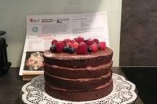 Makerist - Meine erste Schoko Naked Cake zum Muttertag - 1
