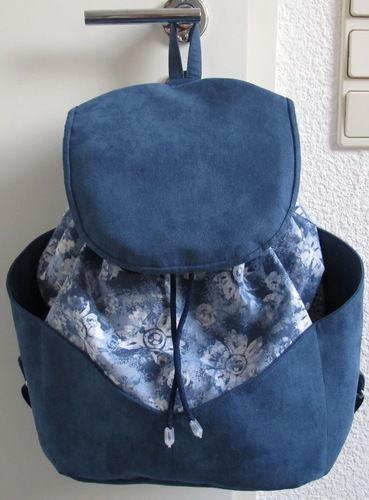 Makerist - Blauer Rucksack - Nähprojekte - 3