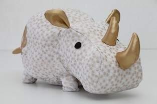 Makerist - Rhinocéros réalisé avec le patron DIY Fluffies - 1