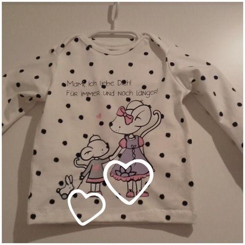 Makerist - Babyshirt als Muttertagsgeschenk - Textilgestaltung - 1