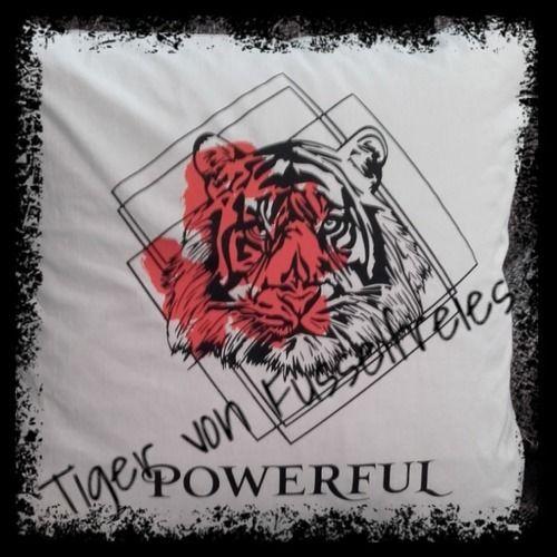 Makerist - Tigerliebe - Textilgestaltung - 1