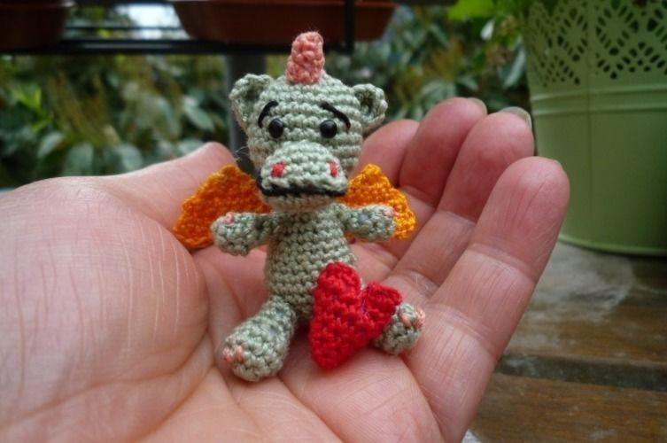 Makerist - Mein Herziges Drachenkind - Häkelprojekte - 1