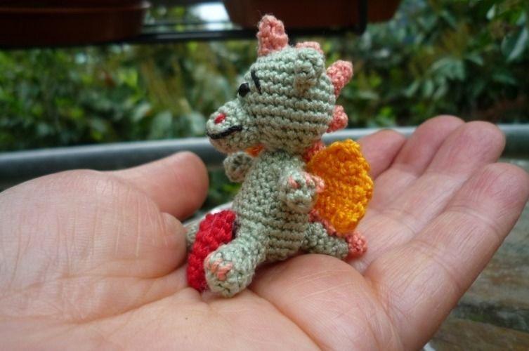 Makerist - Mein Herziges Drachenkind - Häkelprojekte - 2
