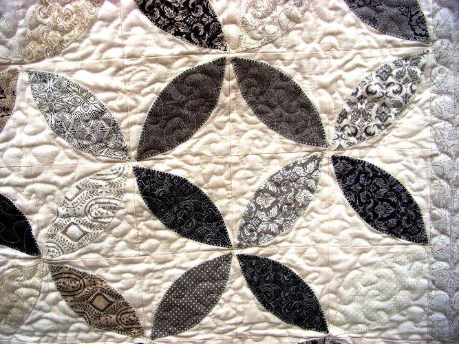 Makerist -  Orange-Peel-Quilt als Bett-/Tagesdecke - Patchwork-Projekte - 2