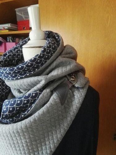 Makerist - Wickelschal - Nähprojekte - 2