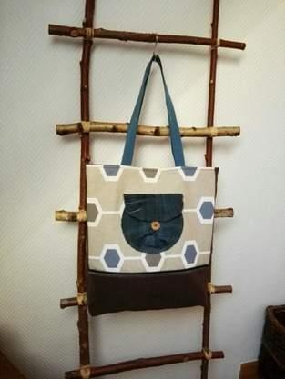 Makerist - Tasche #Resteverwertung# - 1