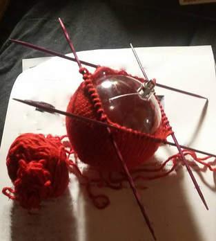 Makerist - Christbaumkugeln aus Wolle - 1