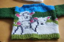 Makerist - Schäfchenjacke für meine kleine enkelin - 1