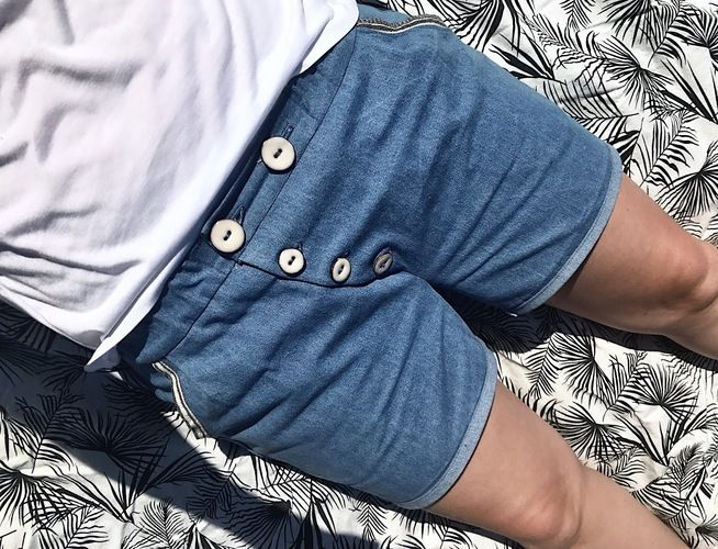 Makerist - Sommer Jeans Short - Nähprojekte - 1