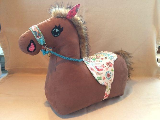 Makerist - Bonny das Pony für Greta - Nähprojekte - 1