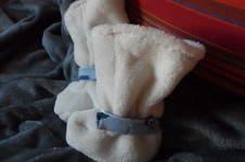 Makerist - Babystiefel  für meinen kleinen Enkel  in versch. Fell, Nicky, Jerse, Fleece  - 1