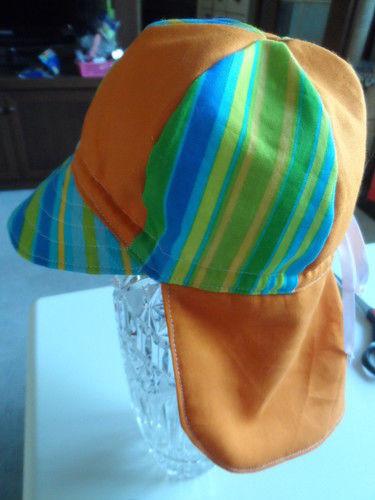 Makerist - Sonnenhut mit Nackenschutz  BW - Nähprojekte - 1