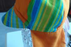 Makerist - Sonnenhut mit Nackenschutz  BW - 1