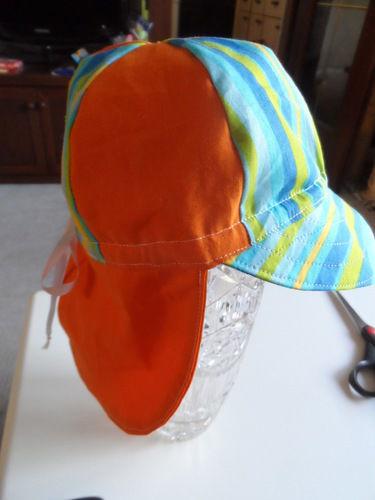 Makerist - Sonnenhut mit Nackenschutz  BW - Nähprojekte - 3