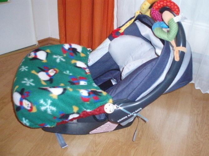 Makerist - Babyschalen Decke  und Kinderwagen Muff eigener Entwurf für meinen 1. Enkel  - Nähprojekte - 1