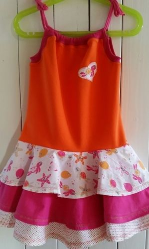 Makerist - Kleid sun kiss für meine enkelin😍  - Nähprojekte - 2