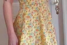 Makerist - AnniNanni-Kleid mit Spaghettiträgern aus Baumwoll-Gewebe - 1