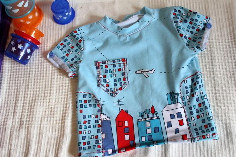 Makerist - Ab in den Urlaub! T-Shirt für unseren Kleinen  - Nähprojekte - 1