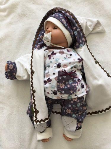 Makerist - Babyset kleine Blütenfee aus Baumwolljersey für Mädchen in Größe 62/68.  - Nähprojekte - 1