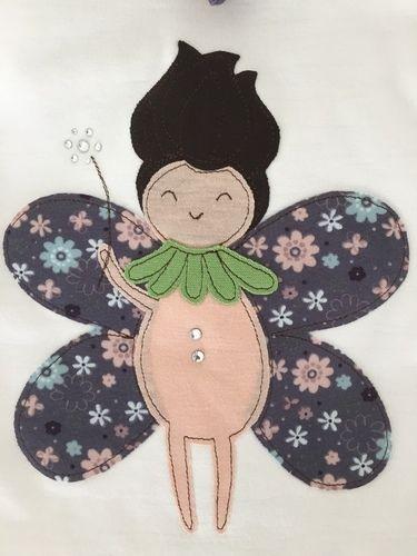 Makerist - Babyset kleine Blütenfee aus Baumwolljersey für Mädchen in Größe 62/68.  - Nähprojekte - 3