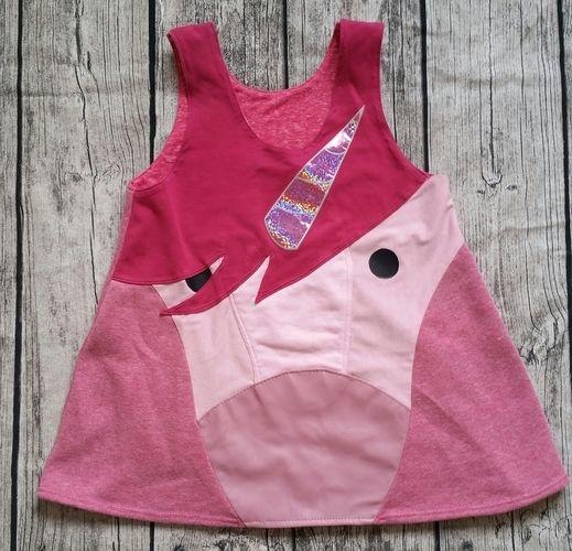 Makerist - Einhornkleid in pink und rosa - Nähprojekte - 1