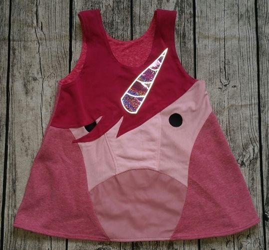 Makerist - Einhornkleid in pink und rosa - Nähprojekte - 2