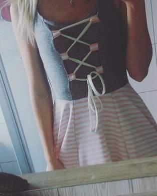 Makerist - Dirndl Kleid aus Jersey für mich selbst :)  - 1