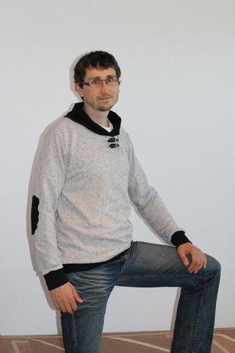 Makerist - Sweatshirt für meinen Mann - Nähprojekte - 1