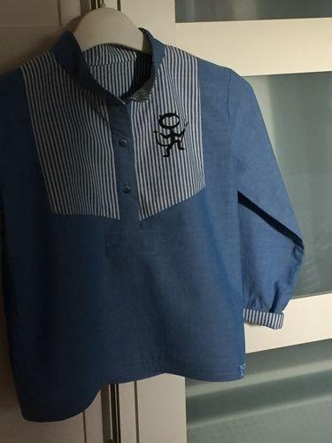 Makerist - Little Fritzi Hemd Gr. 134 für meinen 8-jährigen Sohn - Nähprojekte - 2