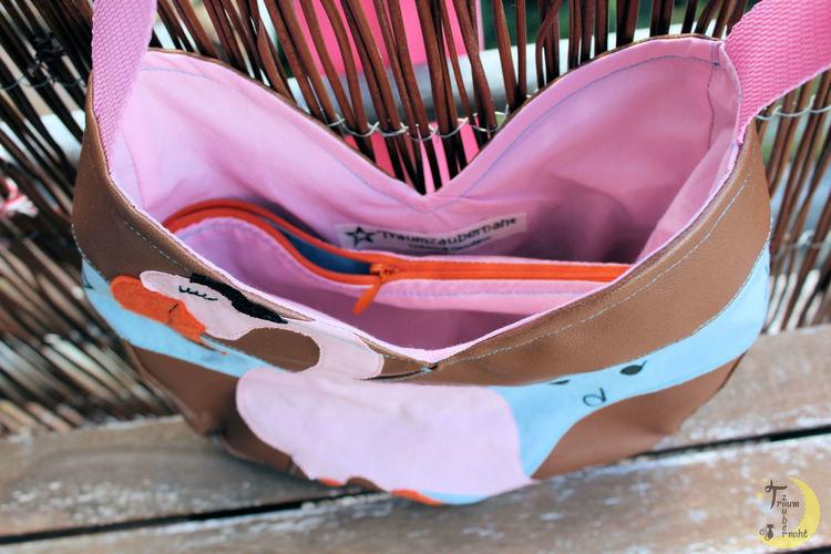 Makerist - Eine Tulipa mit rockendem Flamingo - Nähprojekte - 3