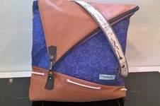Makerist - Handtaschenrucksack für mich :) - 1