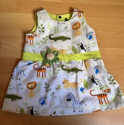 Makerist - Sommerkleid im Safarilook - Nähprojekte - 1