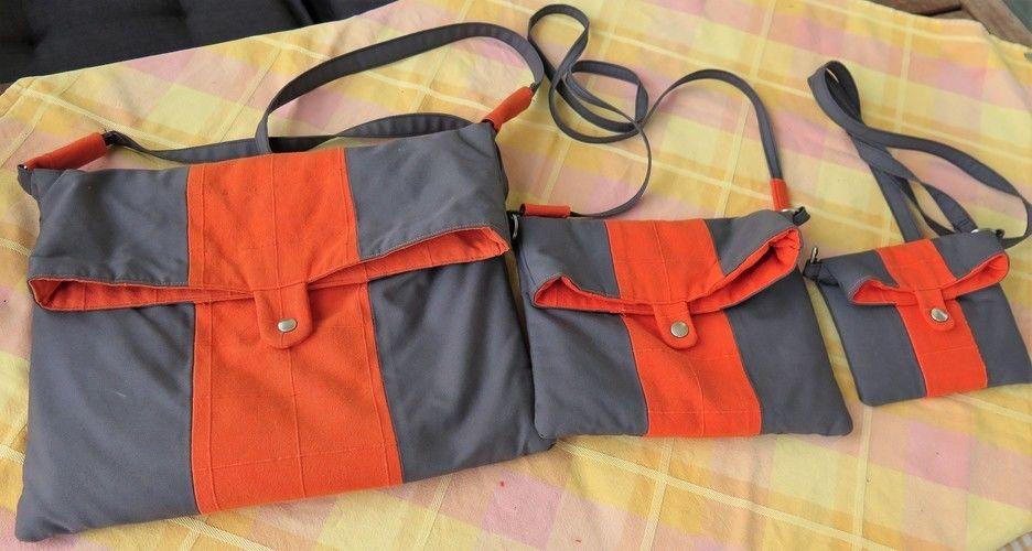 Makerist - Tasche Mira in 3 Größen - Nähprojekte - 1