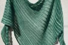 Makerist - luftiges Dreieckstuch aus Babymohair und Seide - 1