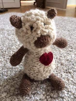 Makerist - Amigurumi - Kleines Lamm - 1
