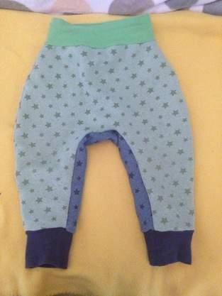 Makerist - Pumphose aus sweatshirtstoff mit Sternen in 86/92 - 1