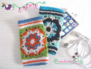 Makerist - Ebook i-Phone / i-Pot Tasche aus Granny Squares - 1