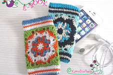 Makerist - Ebook i-Phone / i-Pot Tasche aus Granny Squares - 1