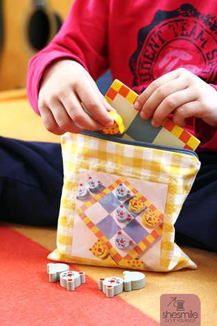Makerist - Spielbeutel Zipverpackt - 1