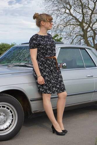 Makerist - Frau Jette - Kleid aus Viskose - Nähprojekte - 1