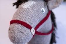Makerist - Fred das Sockensteckenpferd - 1