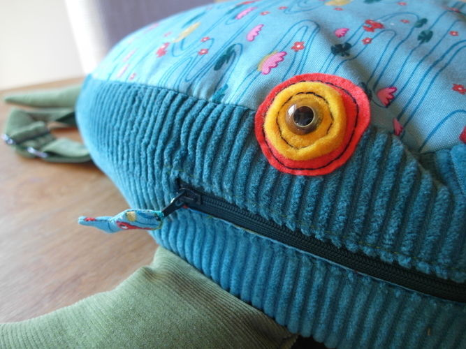 Makerist - Fischrucksack für ein Fischer - Nähprojekte - 2